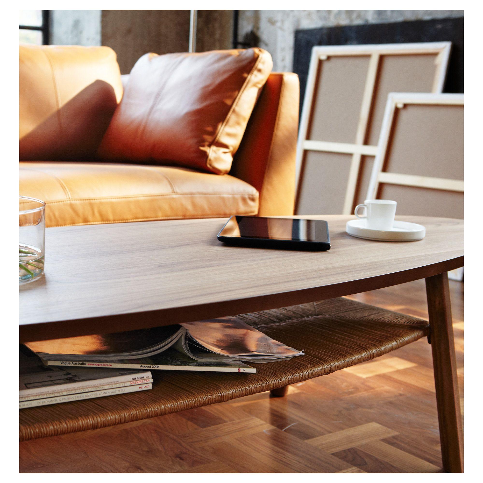 Ikea Stockholm Coffee Table Walnut Veneer