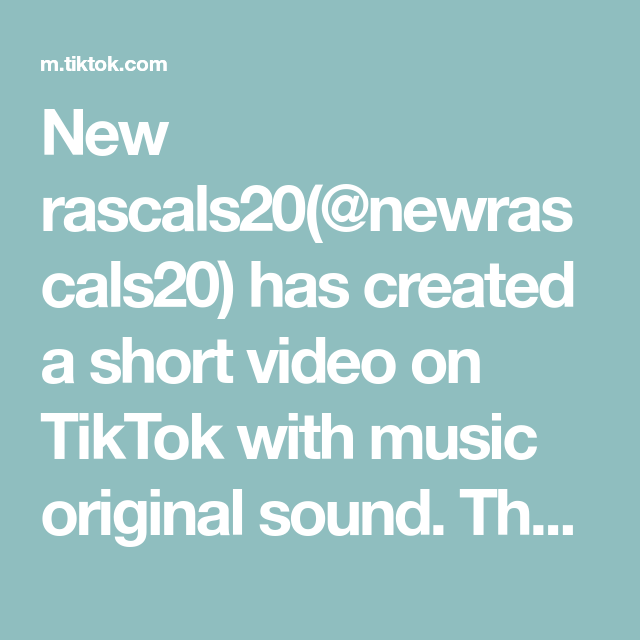 New Rascals20 Newrascals20 Has Created A Short Video On Tiktok With Music Original Sound Thanks To All The Queso Fyp I M Not Good Back To The Gym Music
