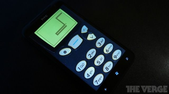 Snake '97 for Windows Phone 7.5. Old school Nokia handset buttons included. Nostalgia overload!