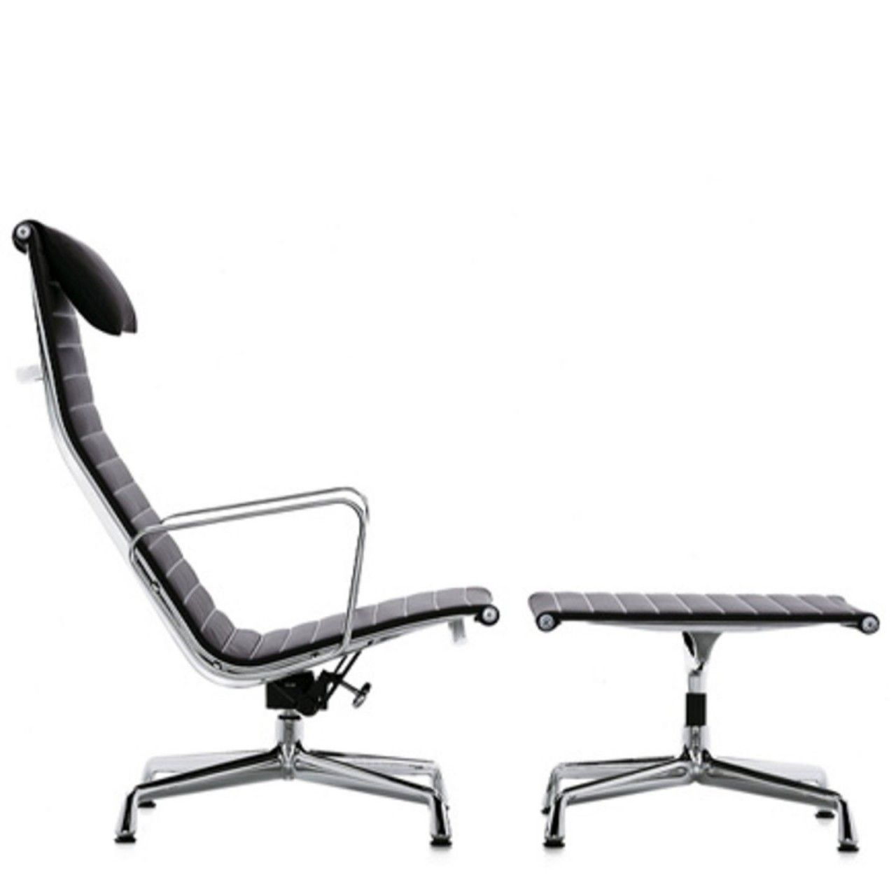 Charles and ray aluminum chairs charles eames lounge