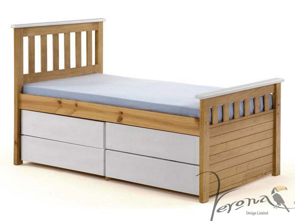 Ferrara Shorty Captains Bed   FREE next day delivery from ...