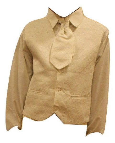 bf0995390 Boys  Ivory 4-Piece Waistcoat Set with Pants  shoppingonline  Oasislync   clothes