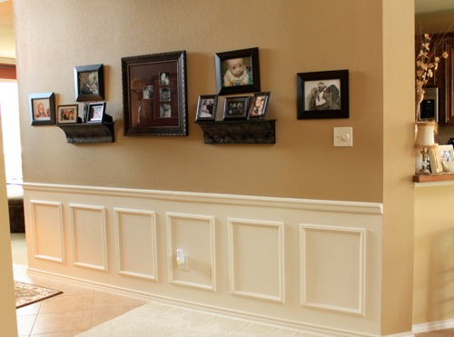 how to the paneled wall decorchick! - 500×371
