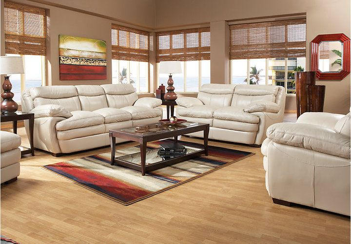 Rooms To Go Montoro Place Taupe Classic 5Pc Living Room on shopstyle