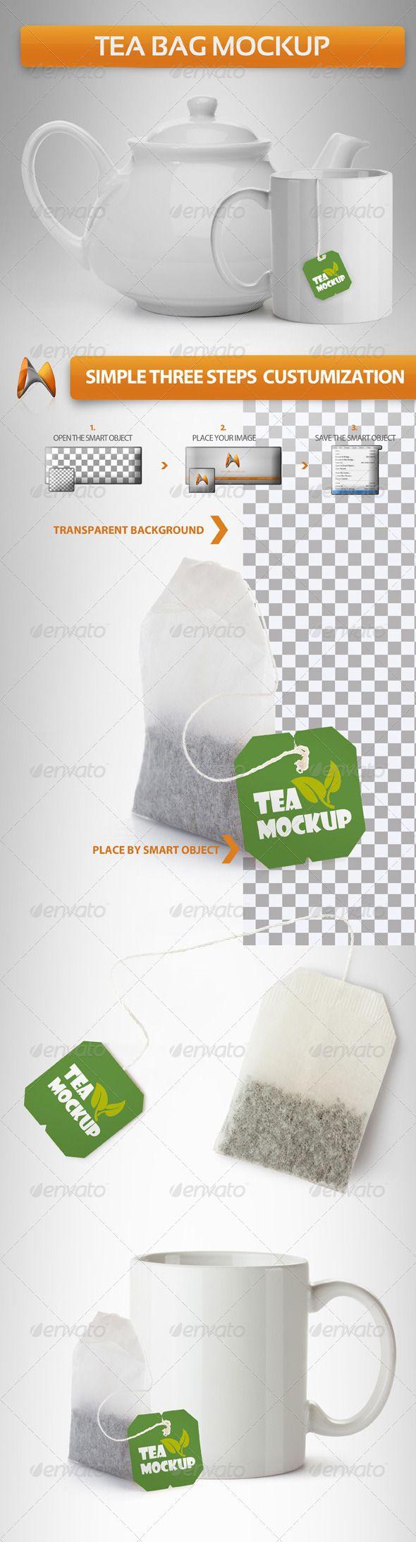 Download Tea Bag Mockup Bag Mockup Tea Bag Packaging Mockup