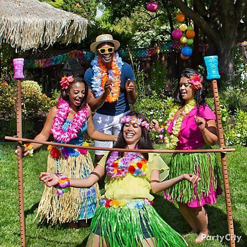 Поздравления с днем рождения женщины в гавайском стиле