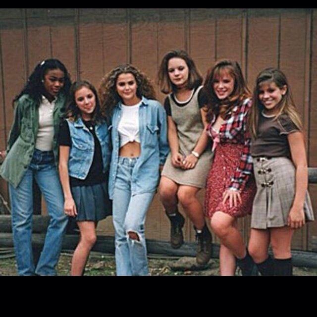 Tatyana Ali, Christine Lakin, Keri Russell Jenna Von Oy, Devon Odessa and Danielle Fishel #AlwaysInTheClub #TBT