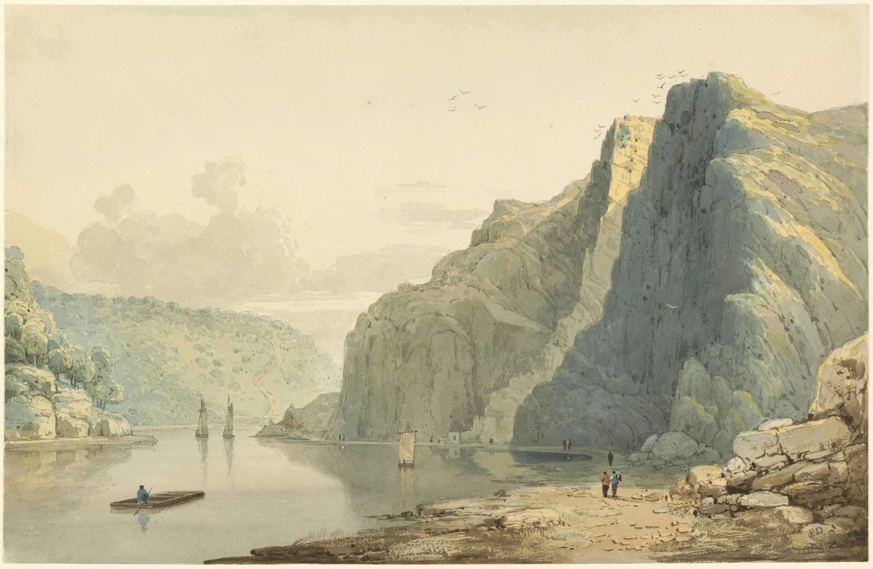 Francis Danby 'saint Vincent' Rocks And Avon Gorge
