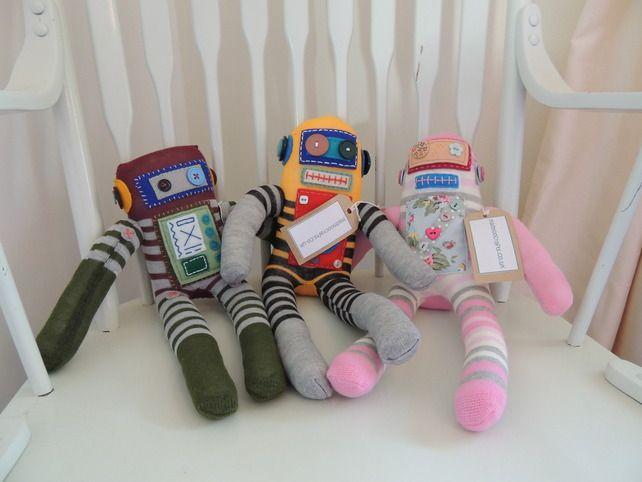 Sock Robots £15.00