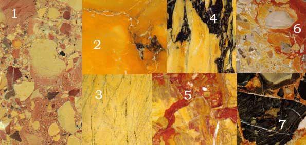 breche d 39 arzo n 6 la fronti re italienne br che fond jaune orange et gris avec morceaux. Black Bedroom Furniture Sets. Home Design Ideas
