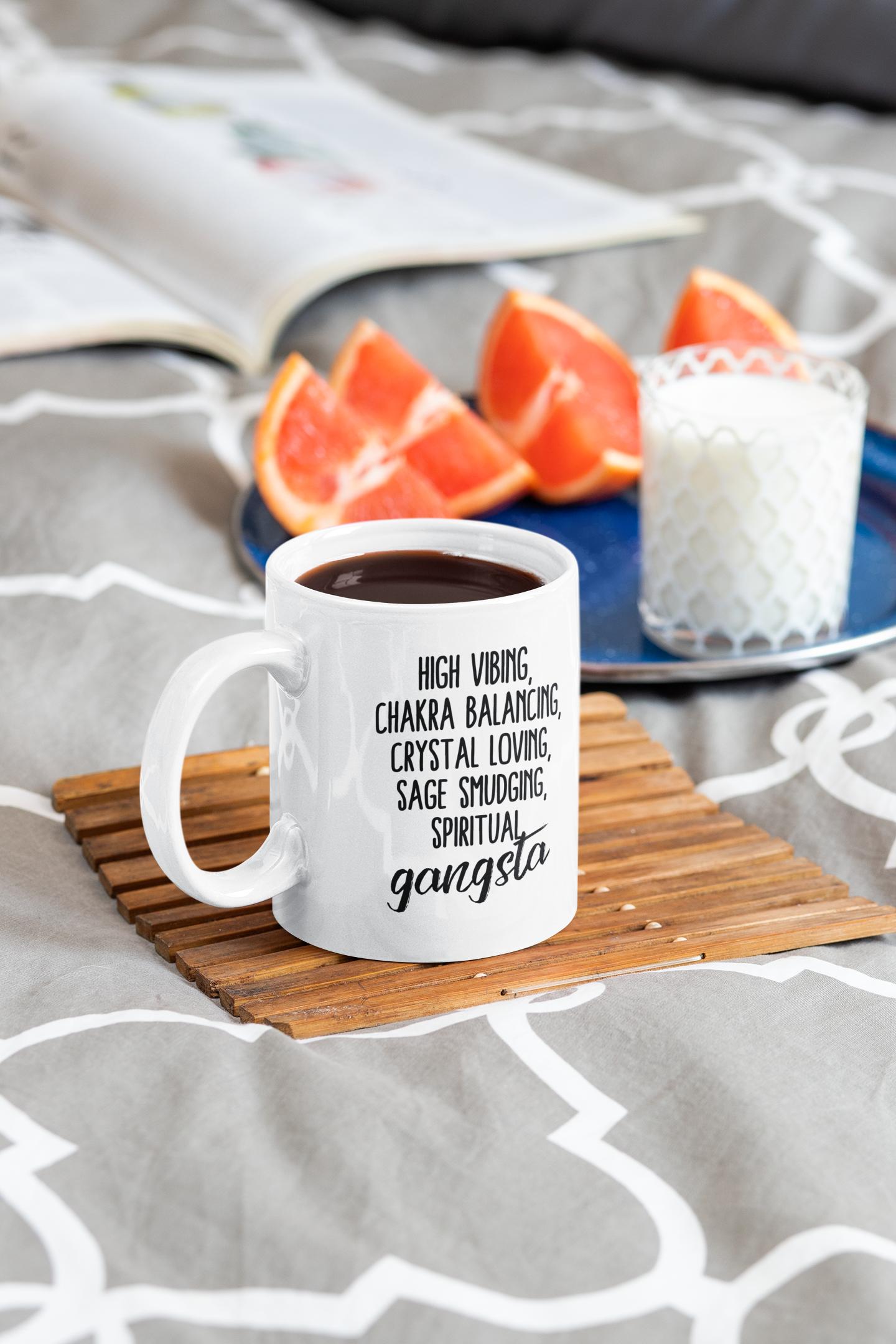 Spiritual Gansta Coffee Mug in 2020 Mugs, Funny