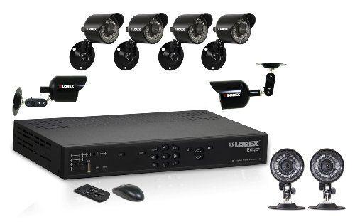 Lorex LH326501C8 Edge + 16-Channel 500GB DVR with 8 Weatherproof