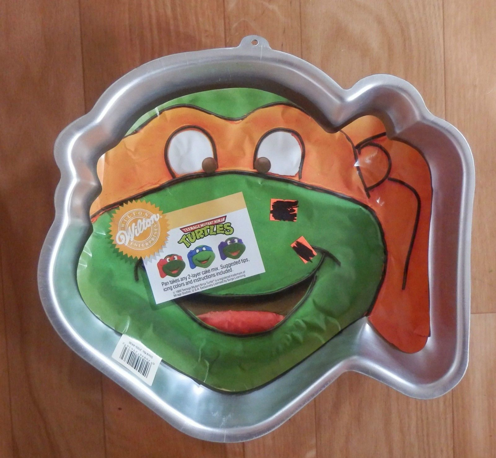 Cool Wilton Cake Pan Cakes Party Birthday Teenage Mutant Ninja Turtles Personalised Birthday Cards Petedlily Jamesorg