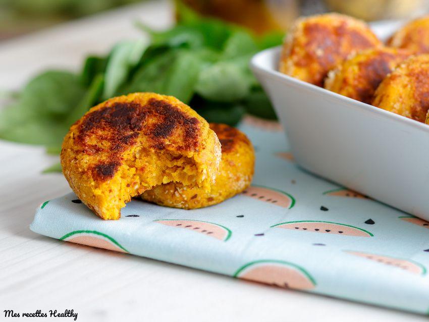 Nuggets végétarien au fromage et potiron