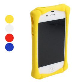 $12.99 Silicone Bumper Frame for iPhone 4 and 4S (Assorted Colors)