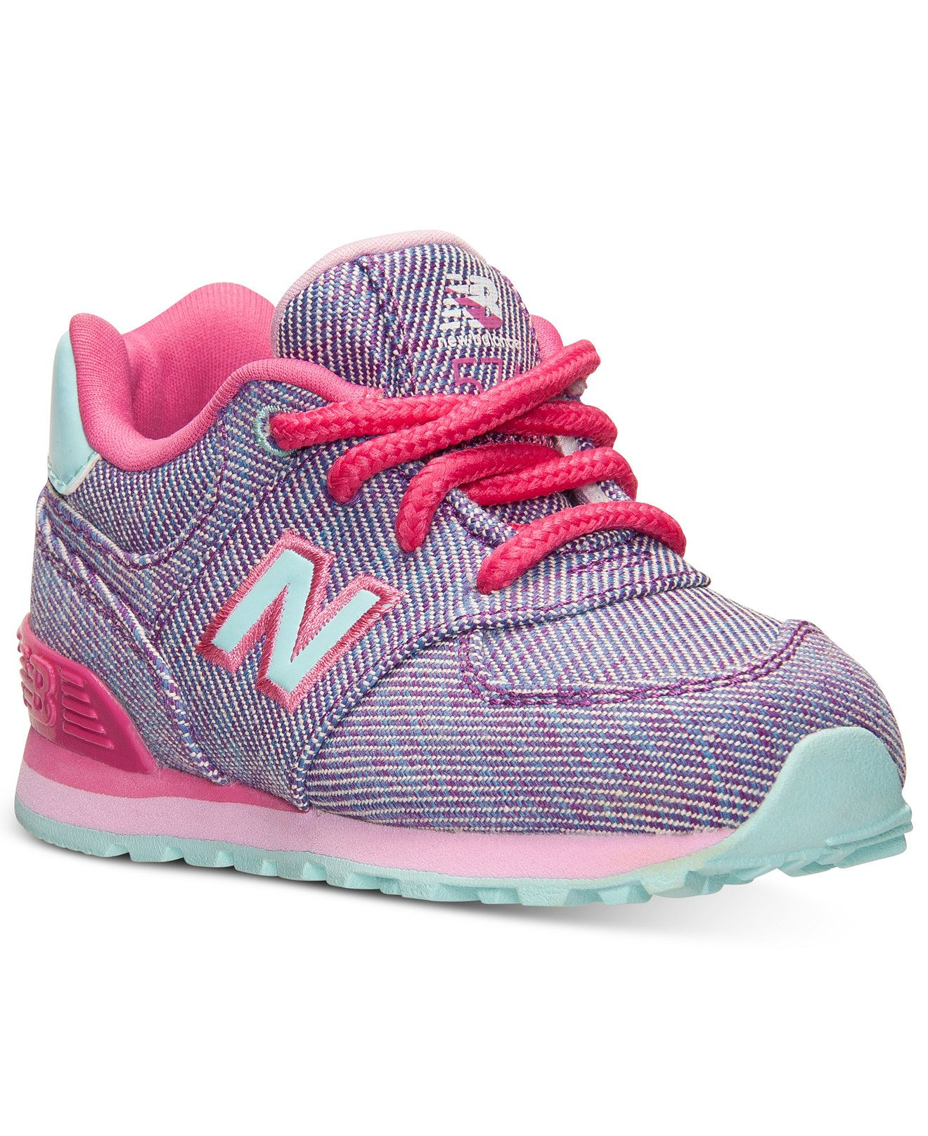 New Balance Toddler Girls' 574 Casual Sneakers from Finish