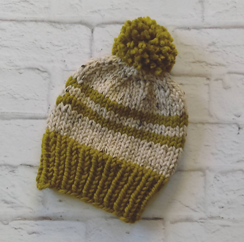 Ravelry  Classic Super Bulky Knit Hat pattern by Carol Tyler  513990bf621