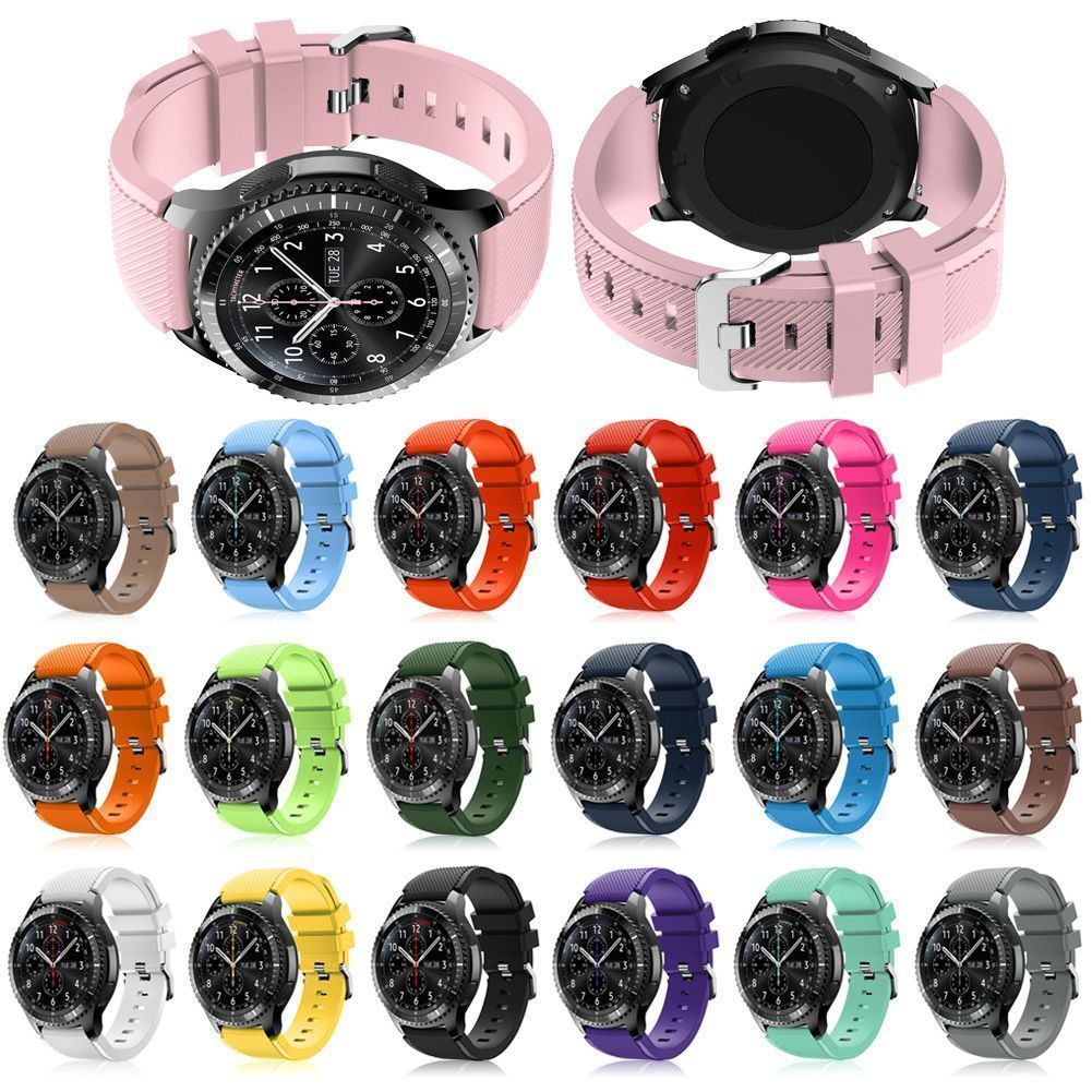 Sports Silicone Bracelet Strap Watch Band For Samsung Gear S3 Classic Frontier Watch Bands Silicone Bracelets Rubber Watches