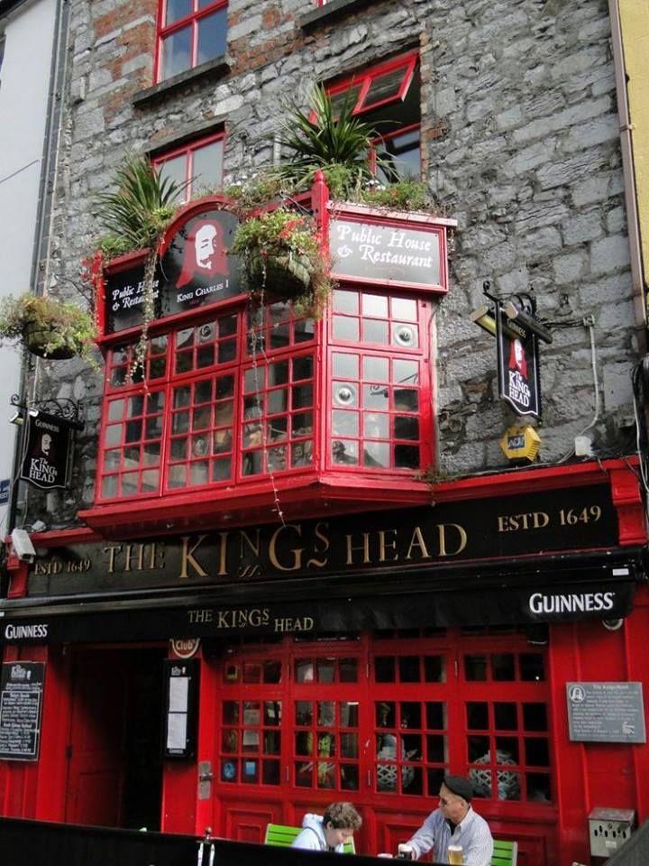 An 800 Year Old Building in Galway, Ireland Pub, British