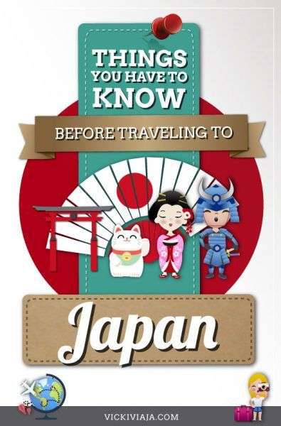 Are you planning to travel to #Japan? There are some important things to know before traveling to Japan. Here you find very helpful Japan travel tips and information about the country and the culture to make your japan trip much easier. #travel #tips #Asia #culture