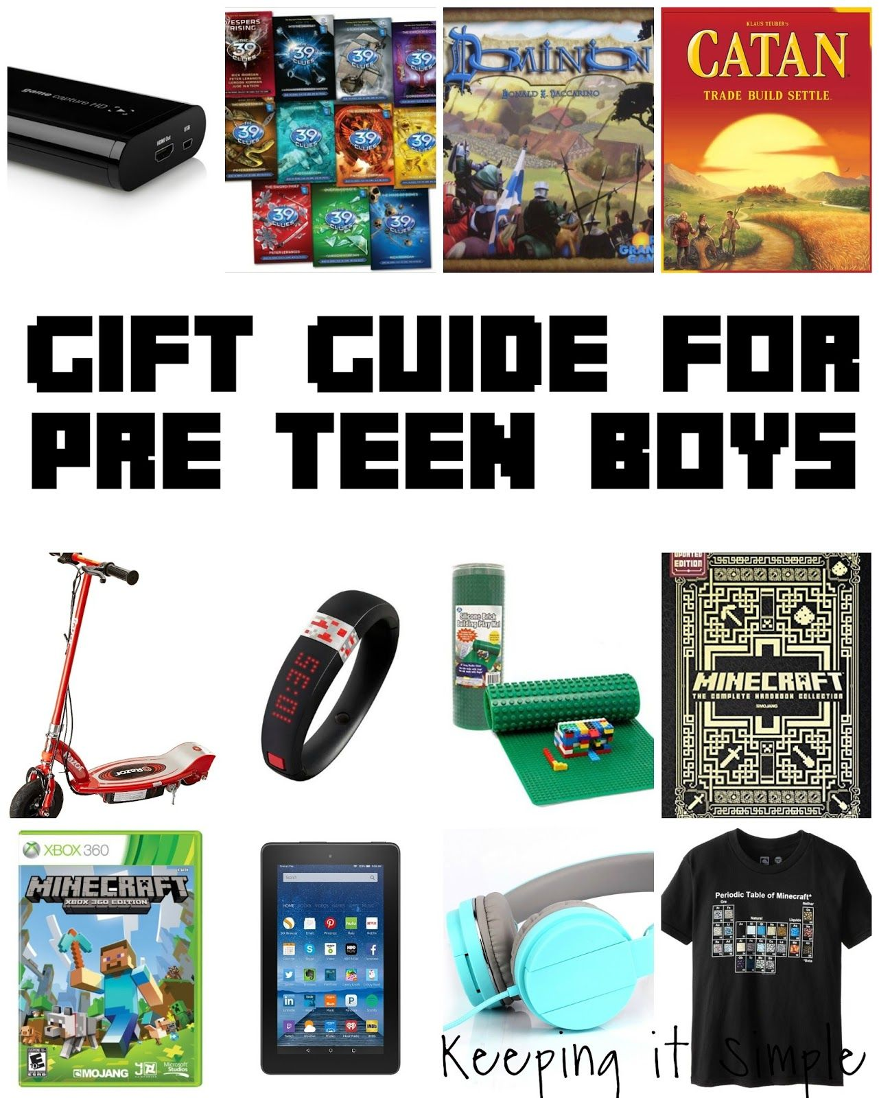 Keeping it Simple Guide Gift for Pre Teen Boys and GIVEAWAY