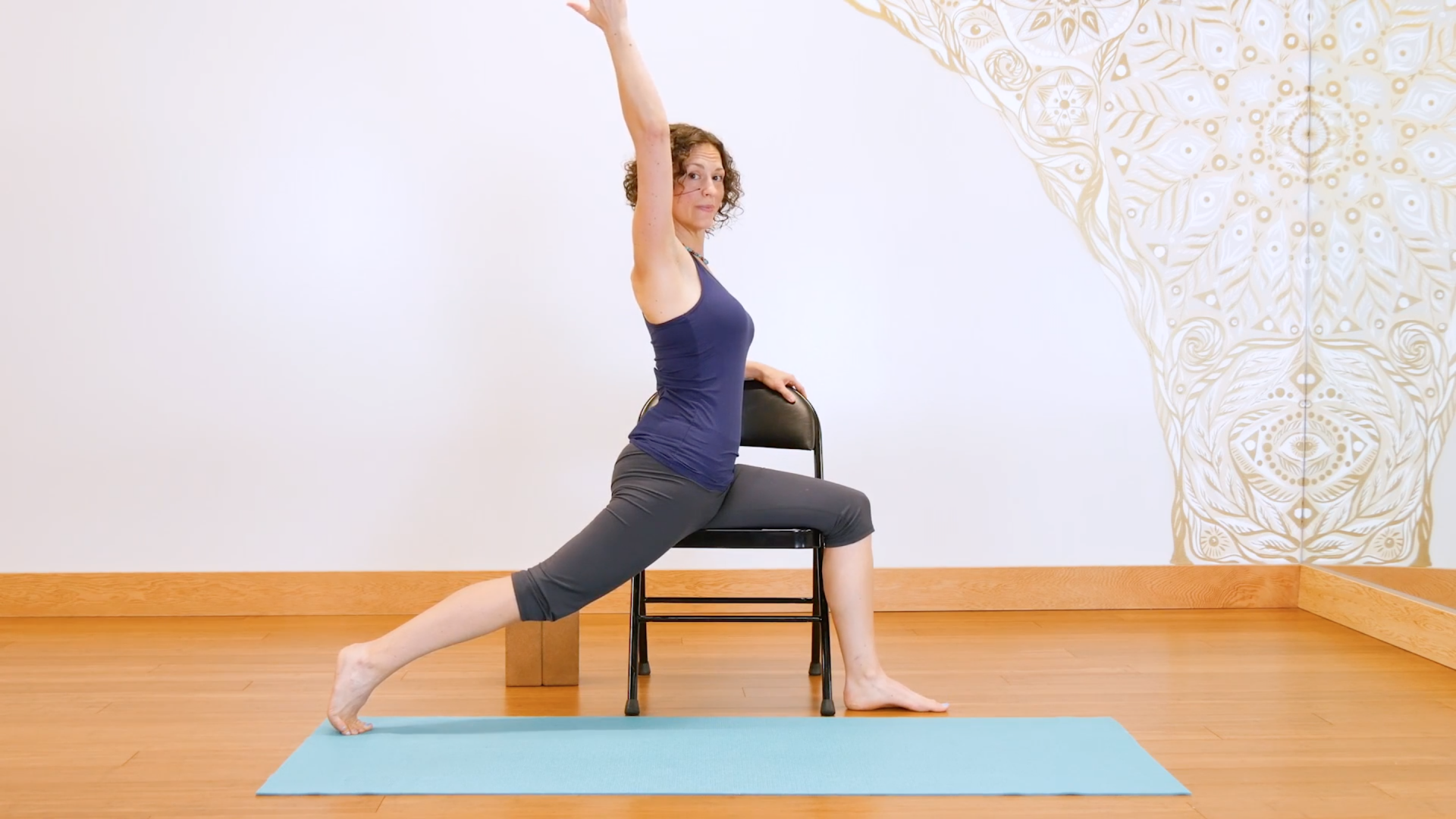 Discover the benefits that chair yoga can provide even the