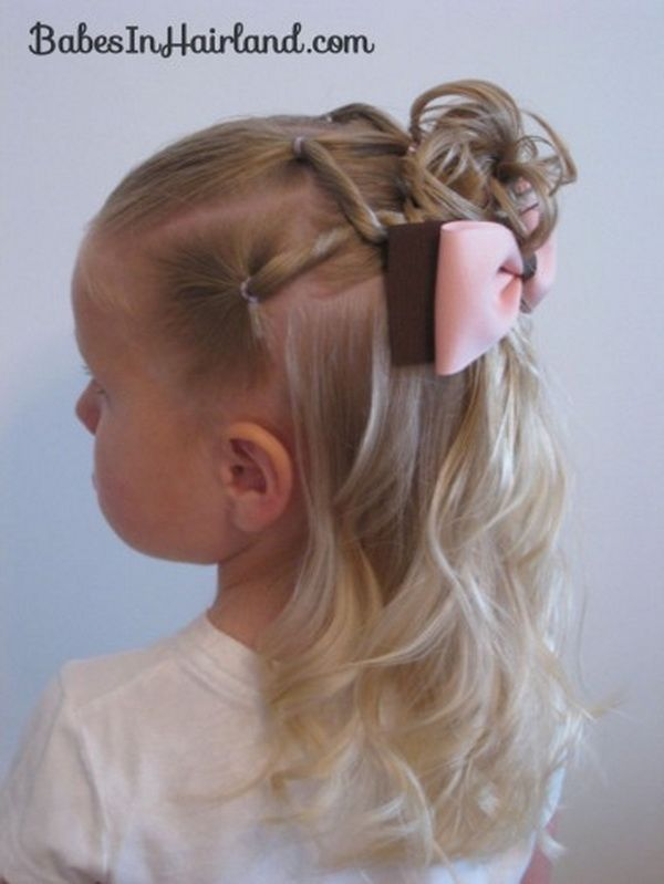 Enjoyable 28 Cute Hairstyles For Little Girls Easy Kid Hairstyles Cute Short Hairstyles Gunalazisus
