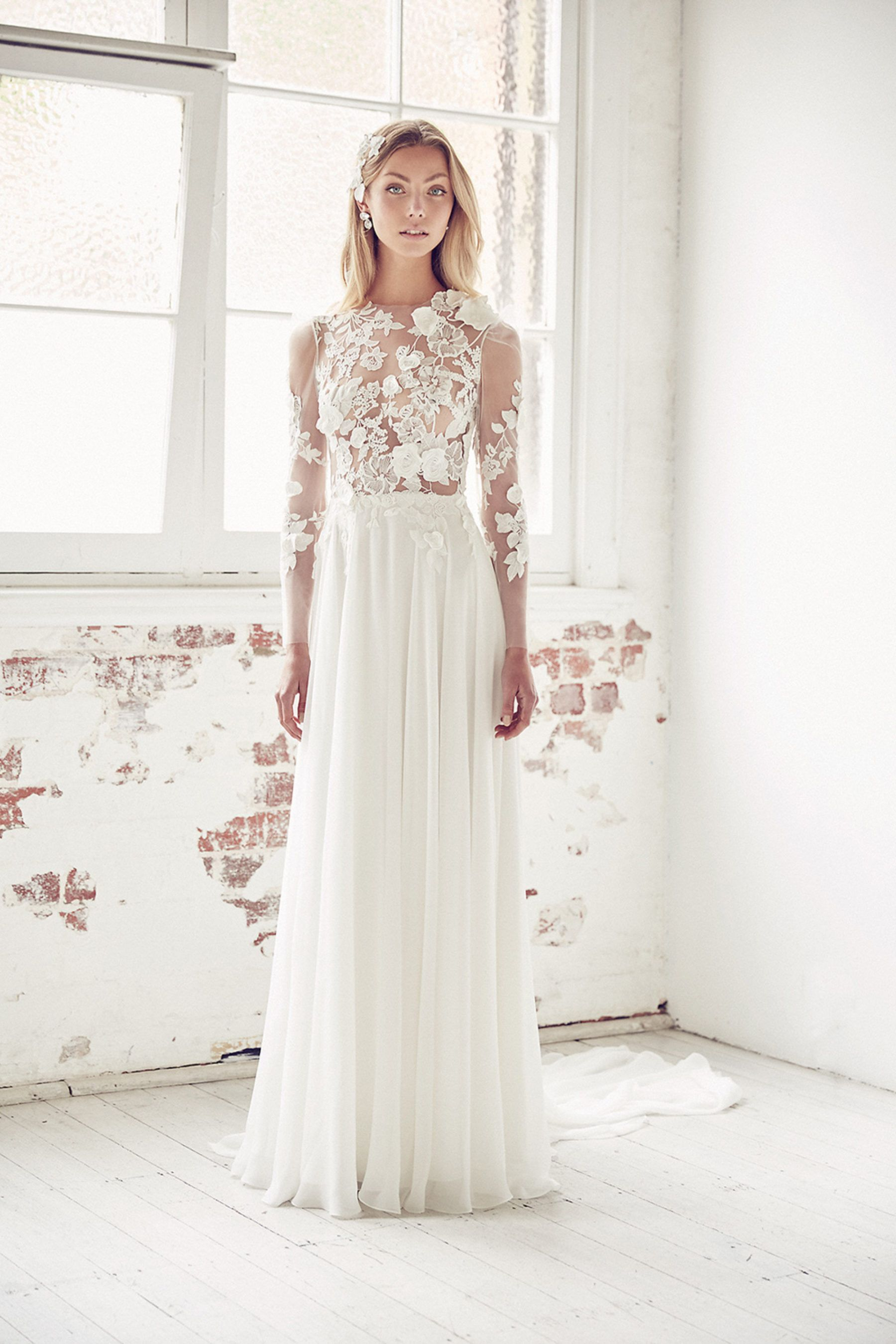 Illuminatiud bridal collection by suzanne harward in