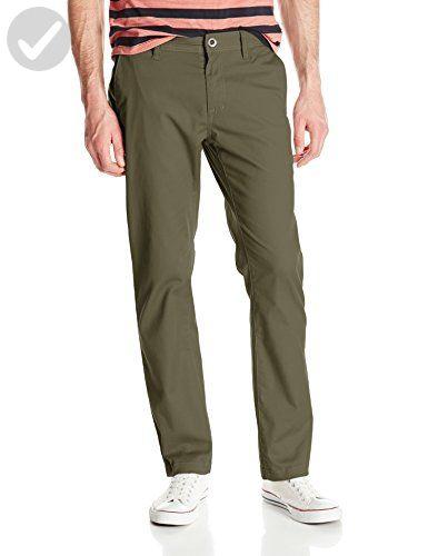 8ad33ea0 Volcom Men's Frickin Modern Fit Stretch Chino Pant, Soil 2016, 29 - Mens  world (*Amazon Partner-Link)