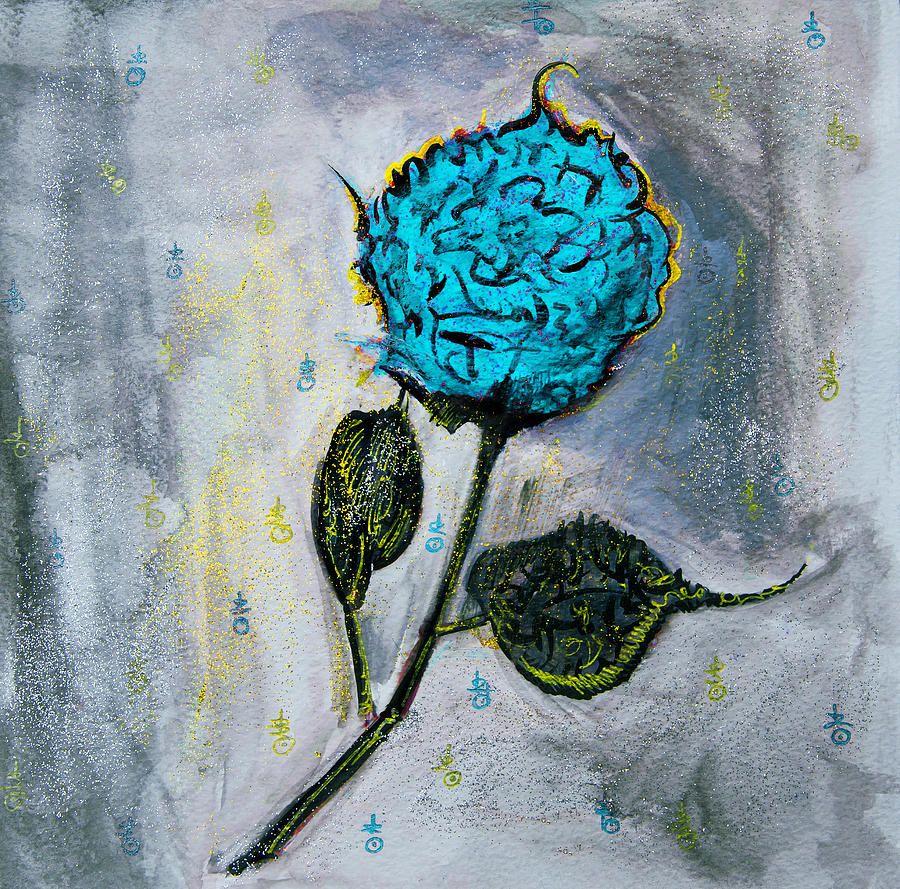 Turquoise Nostalgia Painting