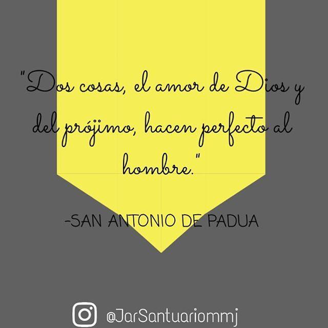 Frases De Santos Dos Cosas El Amor De Dios Y Del Prójimo