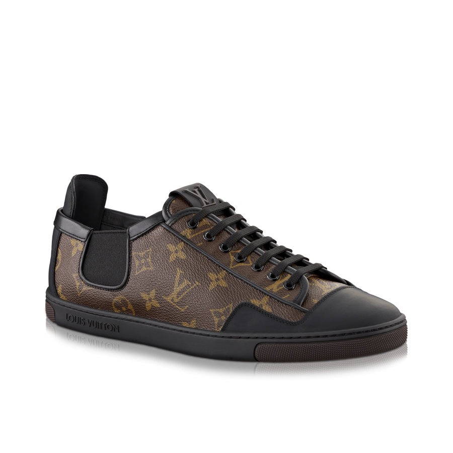 a6f21937697d4 Slalom sneaker in Monogram Canvas via Louis Vuitton