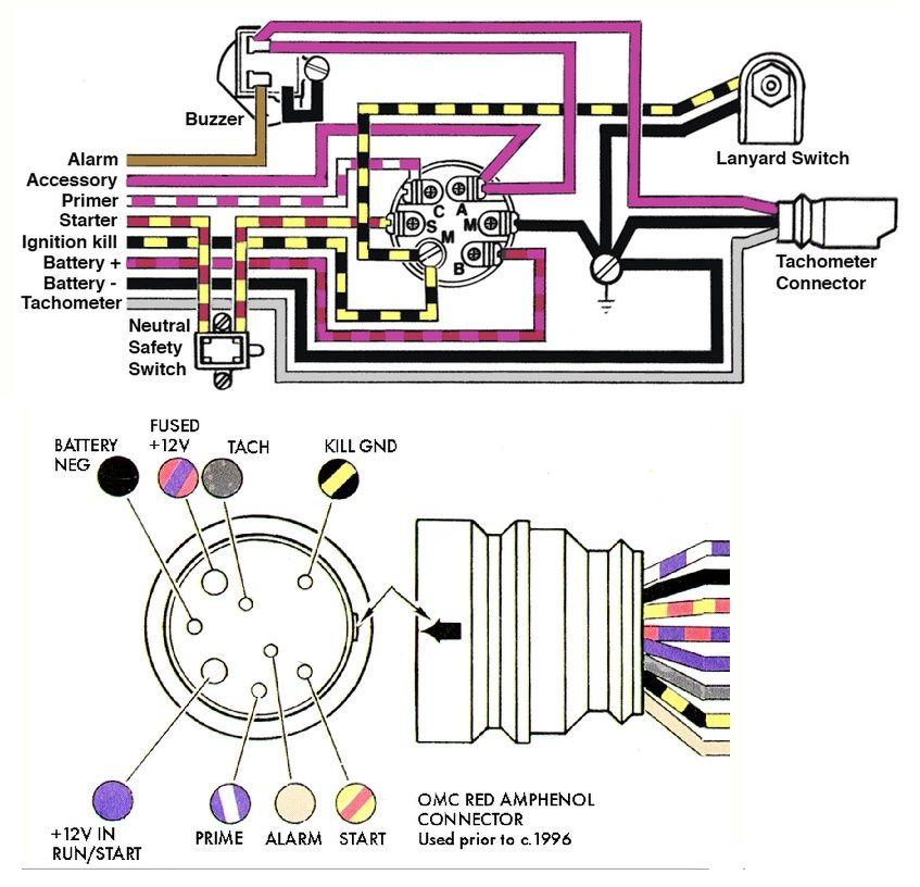 For Key Switch Wiring Diagram Mercury Outboard Switch Diagram