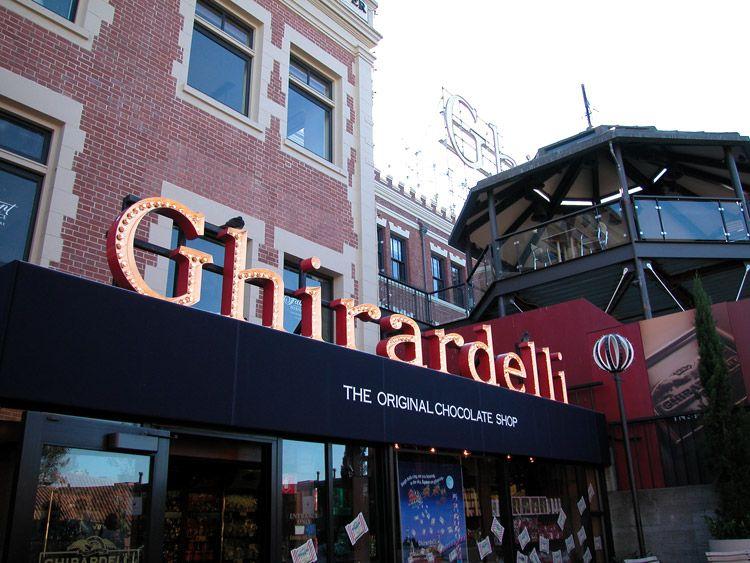Ghirardelli Chocolate Shop. at Ghiradelli Square in San Francisco ... uh. yum!   Ghirardelli square. San francisco neighborhoods
