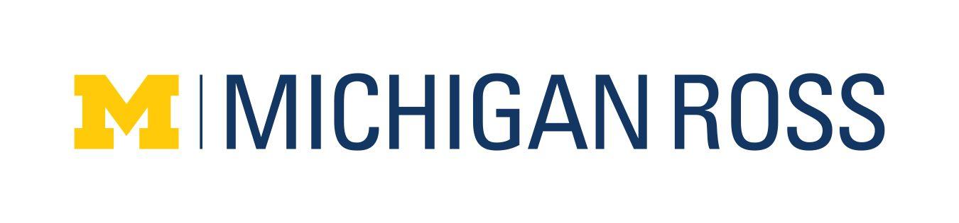 Michigan Ross Business School Logo University Rankings Paired Texts