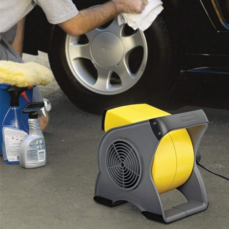 3 High Velocity Speeds Makes This Small But Powerful Blower Fan