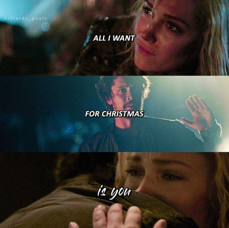 All I Want For Christmas Is You With Images Bellarke The