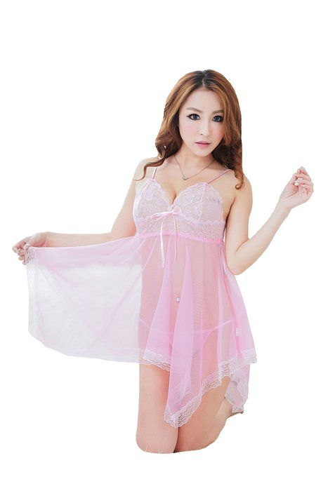 WLC Women Lingerie See-through Outfits Lace Sexy Lingerie Underwear  Sleepwear 2e1be60c3