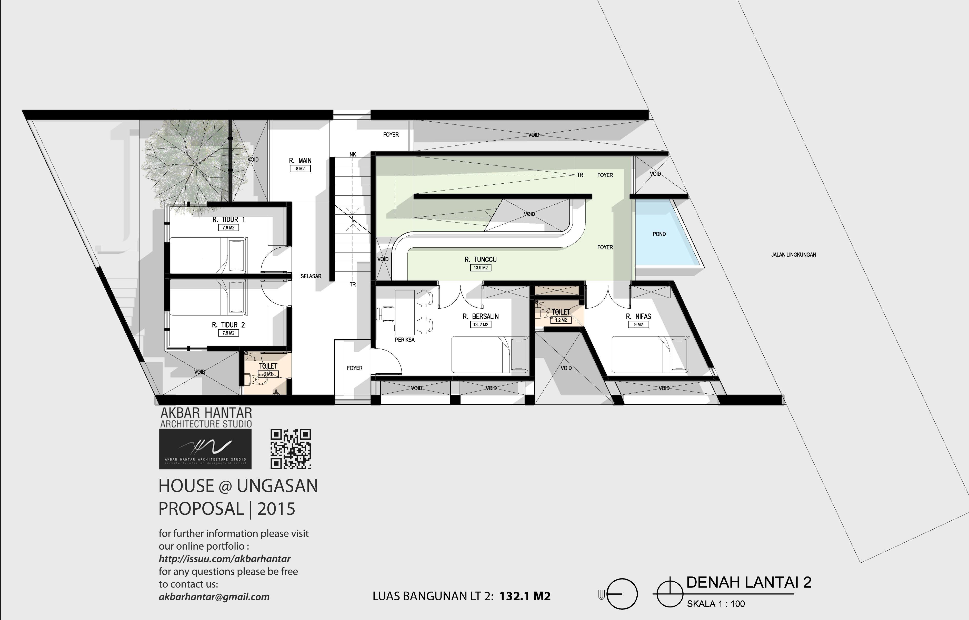 Plan Section Obstetrics Pratice Ni Made Putu Proposal House Ungasan 2015