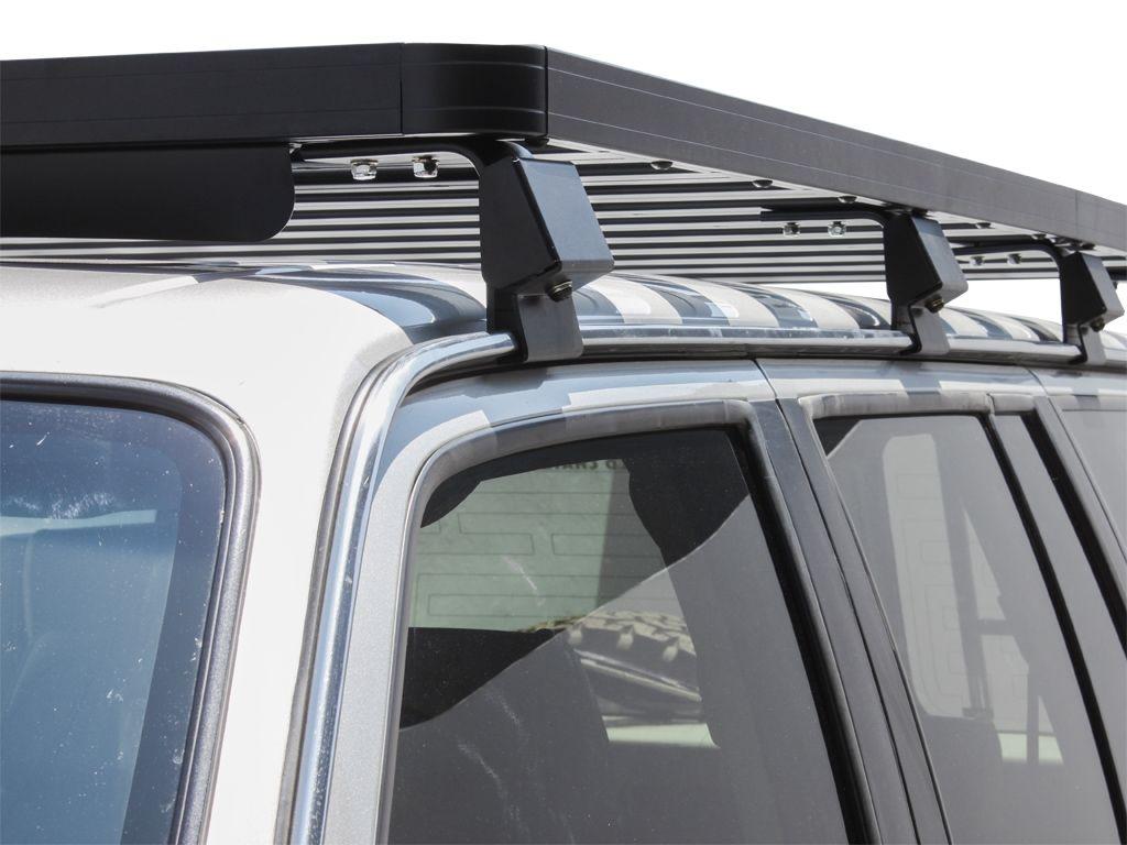 Nissan Patrol Y60 Slimline II Roof Rack Kit by Front