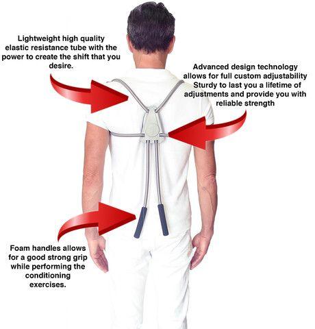 ergo back support correct posture and strengthen posture