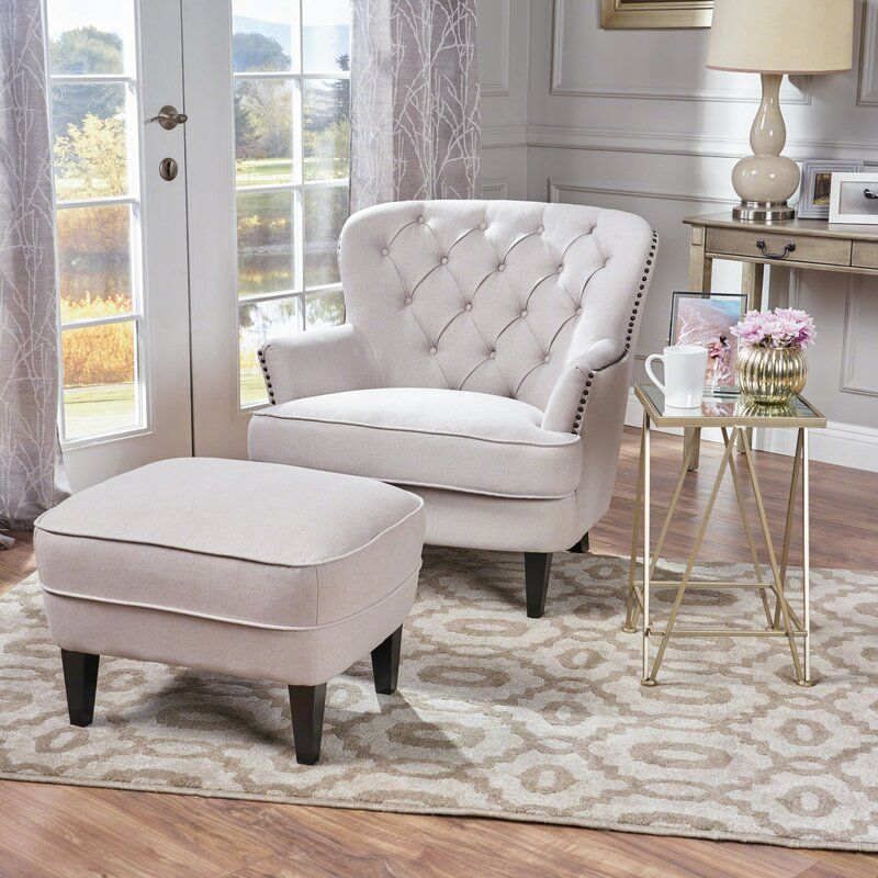 Heywood 24 Armchair And Ottoman In 2020 Furniture Chair And Ottoman Armchair