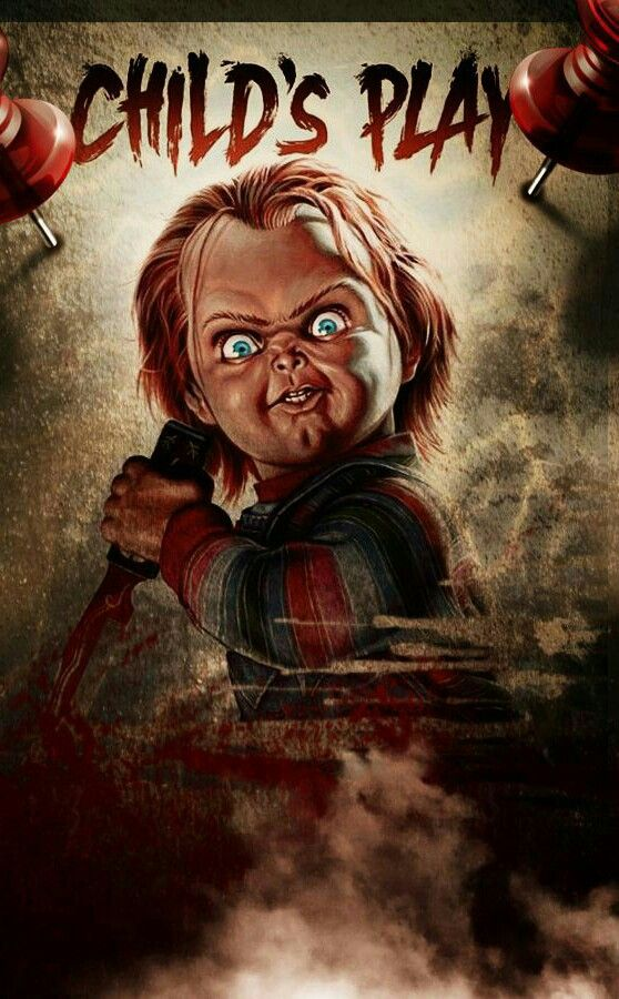 CHILDS PLAY Horror movie art, Horror movie characters