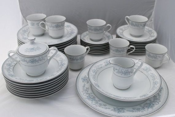 Mikasa Fine China Dresden Rose L9009 Japan 43 by CharleysRoses ...