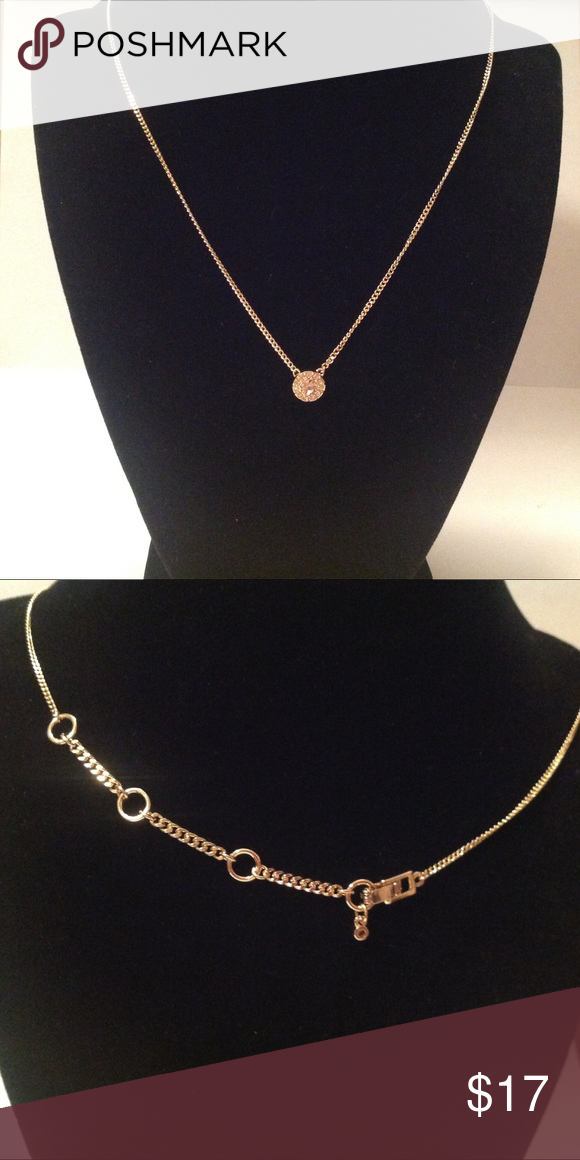 Givenchy Gold Tone Necklace Adjustable Gold tone