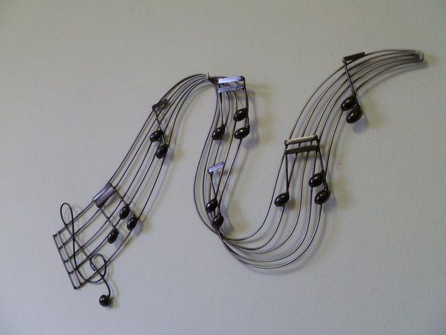 wanddeko wanddekoration musik ein designerst ck von. Black Bedroom Furniture Sets. Home Design Ideas