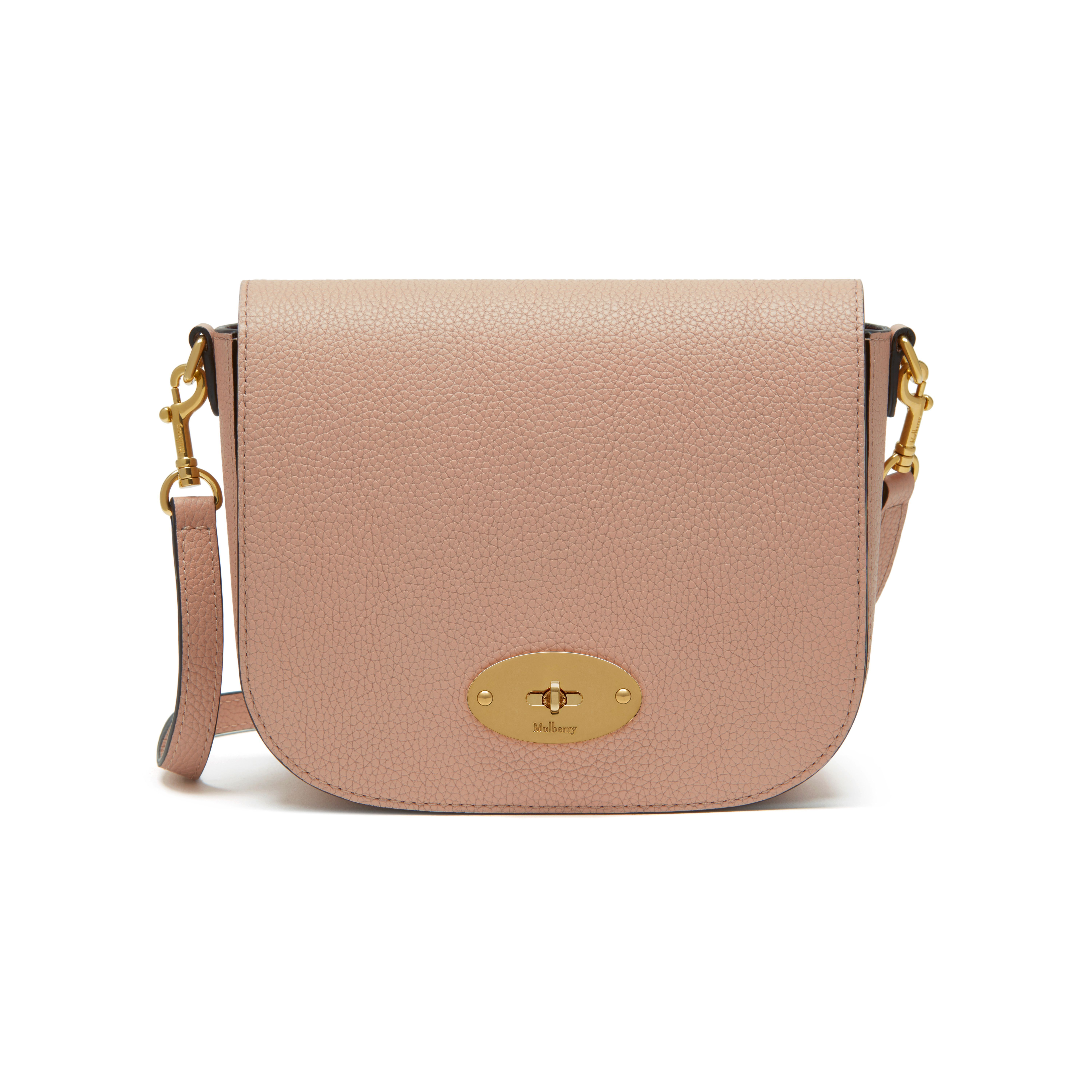 f7b4001d8266 Mulberry - Small Darley Satchel in Rosewater Small Classic Grain