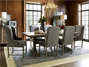 Authenticity Oxford Street Table Furniture Velvet Dining