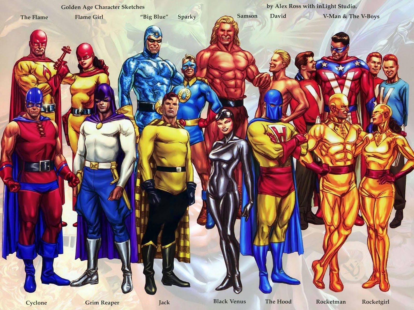 Calvins Canadian Cave Of Coolness Alex Ross And The Public Domain Heroes