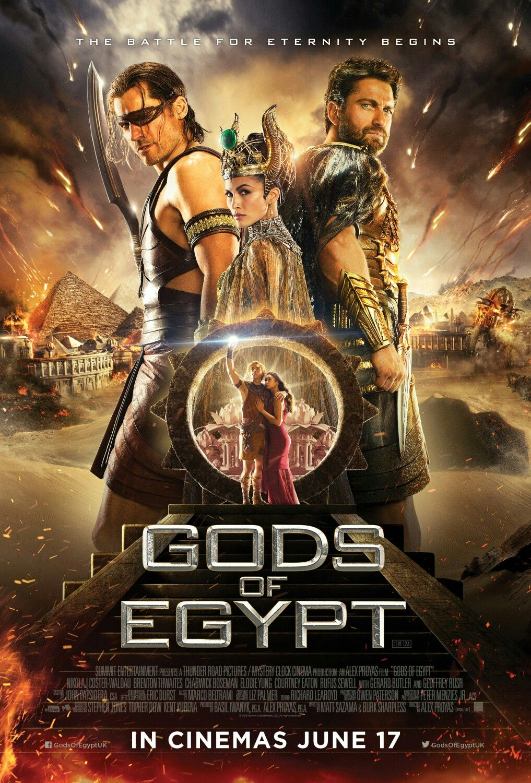 2016 Dioses De Egipto Gods Of Egypt Alex Proyas Película Dioses De Egipto Pelicula De Dios Dioses Egipcios